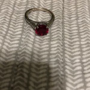 Jewelry - Ruby ring and necklace